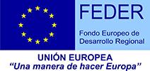Logotipo FEDER - Unión europea